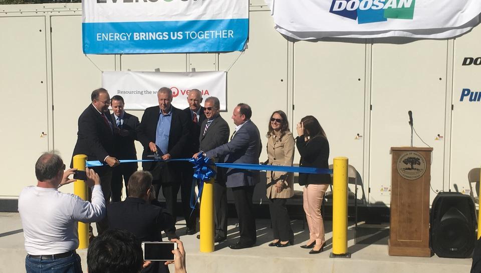 Naugatuck and Veolia Celebrates Ribbon Cutting of New Fuel